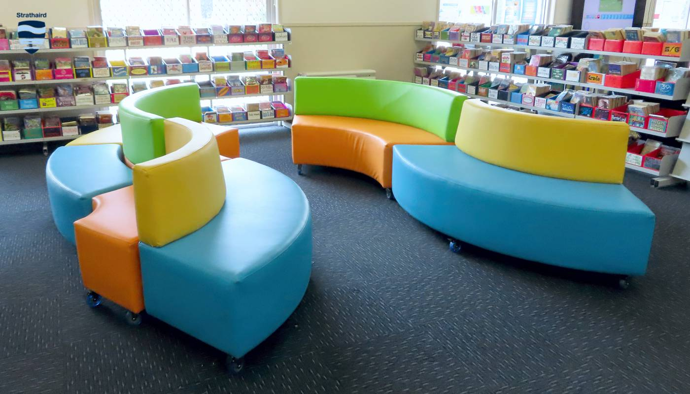 Library Reading Area - Strathaird Primary School Narre Warren South