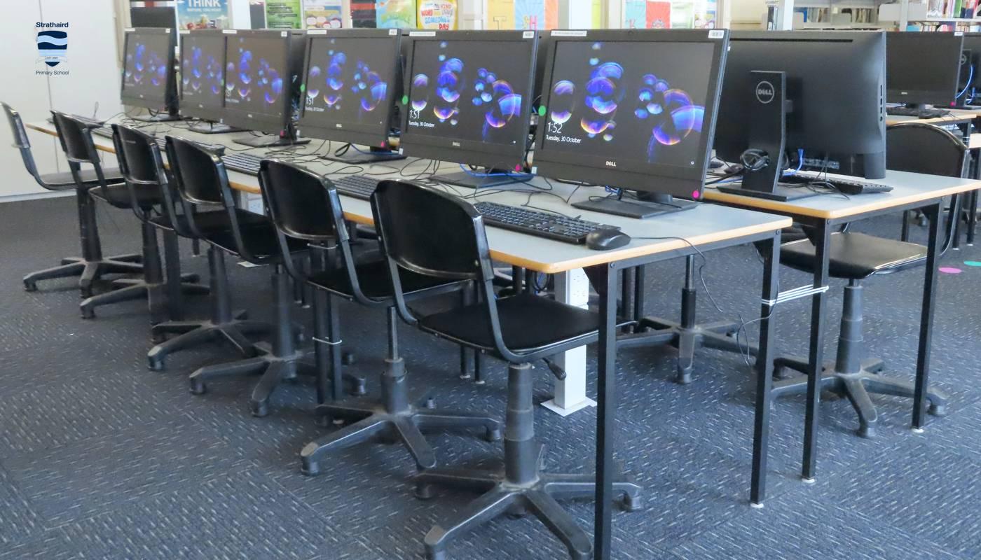 Dedicated ICT Classroom - Strathaird Primary School Narre Warren South