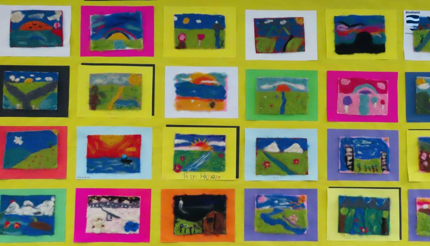 Art Senior Students - Strathaird Primary School Narre Warren South