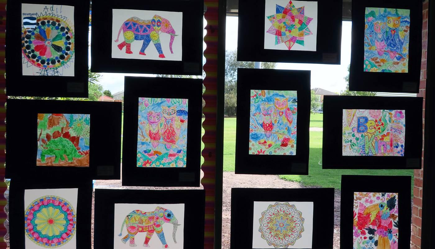 Art Stained Glass Effect - Strathaird Primary School Narre Warren South