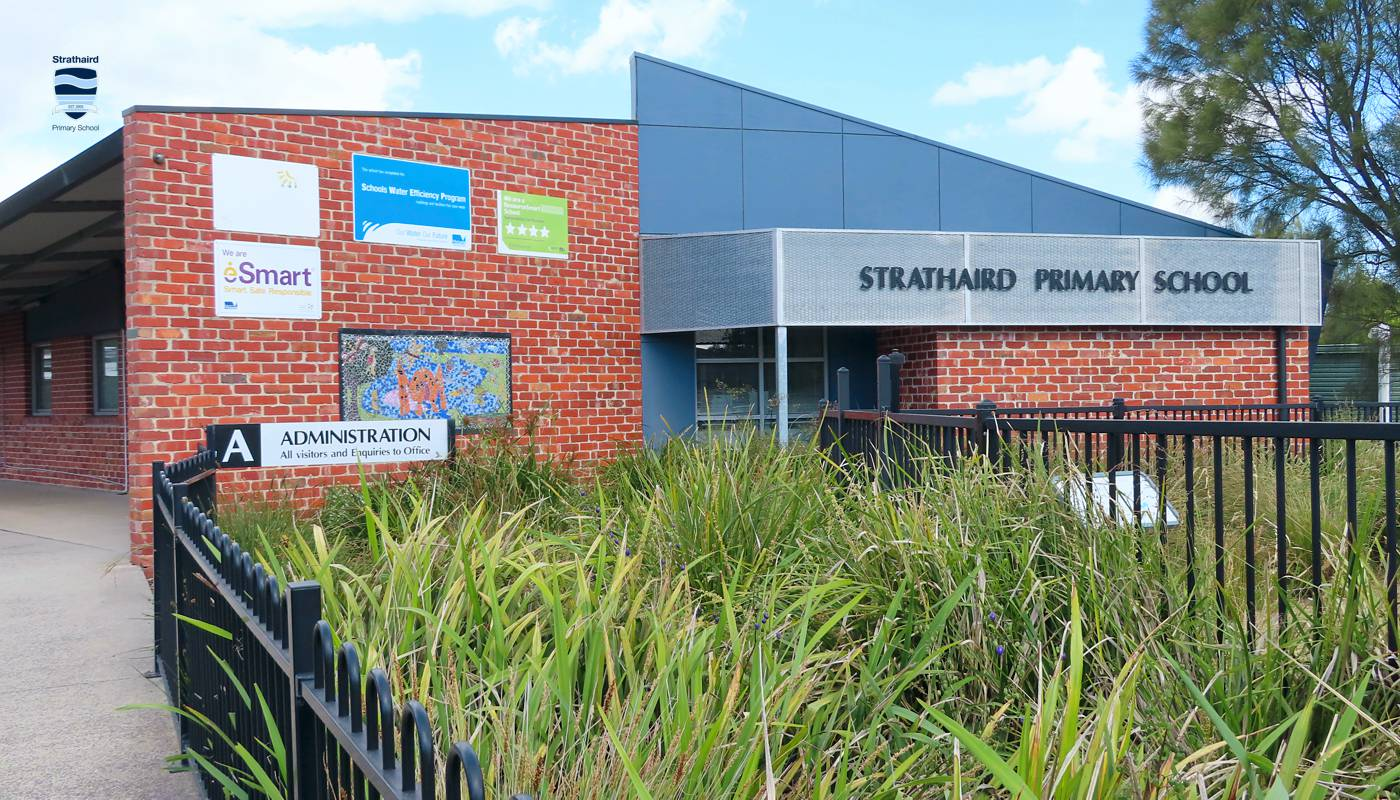 Main School Building and Entrance - Strathaird Primary School Narre Warren South
