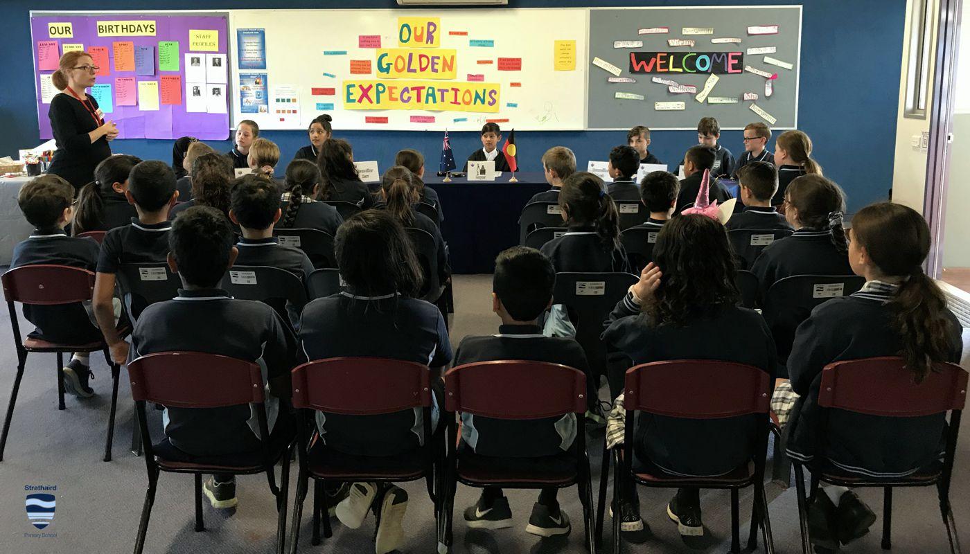 2019 Democracy Incursion Strathaird Primary School