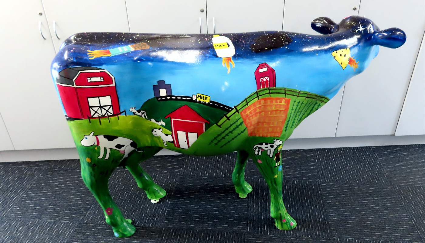 2019 Picasso Cow Strathaird Primary School