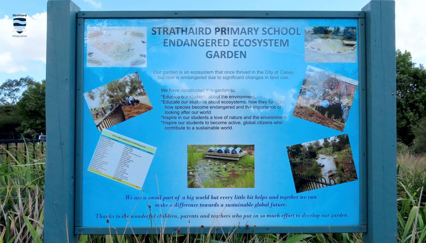 Endangered Ecosystem Garden - Strathaird Primary School Narre Warren South
